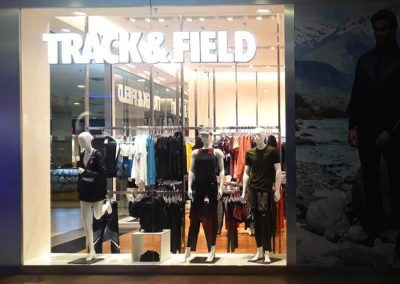 Track & Field Imperial Shopping